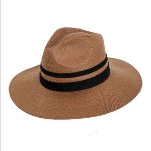 Free People Peter Grimm Melania Wide Brim Sun Hat